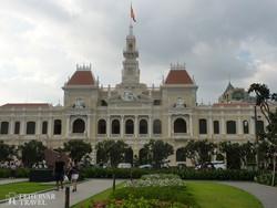 a városháza Ho Chi Minh Cityben (Saigonban)