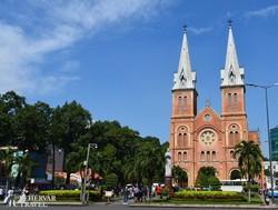 a Notre Dame-katedrális Ho Chi Minh Cityben (Saigonban)