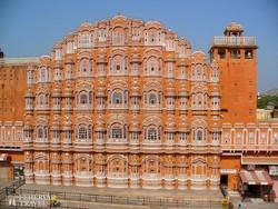 """Jaipur – a Hawa Mahal (""""Szelek palotája"""")"""