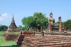 Sukhothai romvárosa – részlet