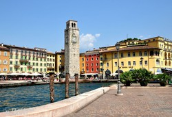 Riva del Garda kikötője
