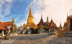 a bangkoki királyi palota épületegyüttese – részlet