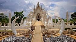 a Rong Khun templom Chiang Raiban