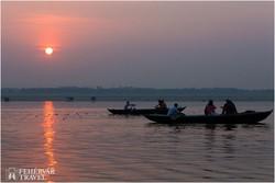 napkelte Varanasiban