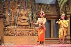 kambodzsai táncbemutató