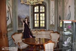 a noszvaji De la Motte-kastély belsője