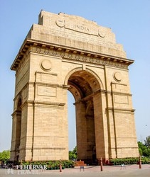 az India-kapu Delhiben