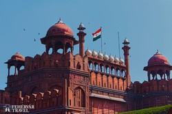 Delhi: a Vörös-erőd – részlet