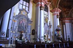 az egri minorita templom díszes barokk belsője