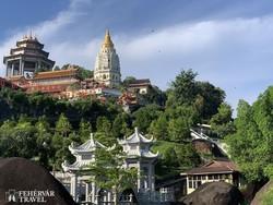 Kek Lok Si – buddhista templom Penang szigetén