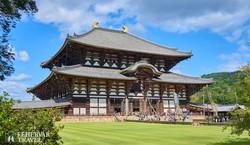a Todaiji-templom Narában