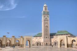 a II. Hasszán mecset Casablancában