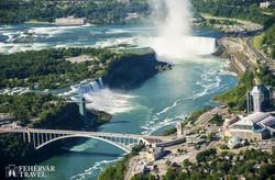 a Niagara-vízesés madártávlatból