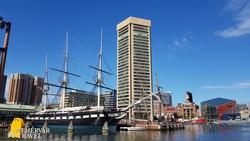 Baltimore hangulatos kikötője