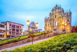 Makaó – a Szent Pál-templom romjai