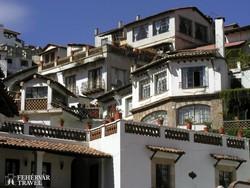 hangulatos házak Taxcóban