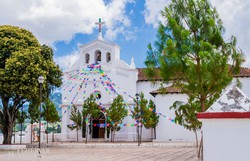 a San Lorenzo-templom Zinacantánba