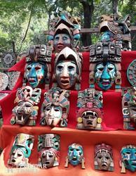 mexikói kézműves portékák
