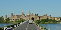 a középkori hercegi palota Mantovában