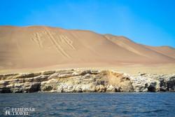 """titokzatos ősi """"gyertyatartó"""" a Paracas Nemzeti Parkban"""
