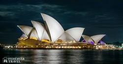 Sydney híres operaháza