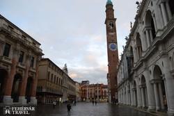 Vicenza főtere Palladio híres bazilikájával