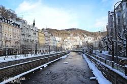 téli csendélet Karlovy Varyban