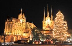 Erfurt karácsonyi pompában