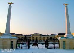a világhírű Schönbrunni kastély