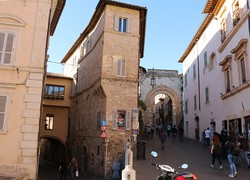 Assisi – óvárosi részlet