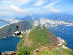 Rio de Janeiro – útban a Cukorsüveg-hegyre