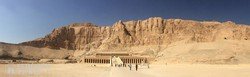 Hatsepszut királynő halotti temploma a Királyok völgyében