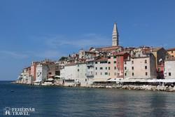 Rovinj középkori óvárosa