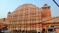 """Jaipur – Hawa Mahal azaz a """"Szelek palotája"""""""