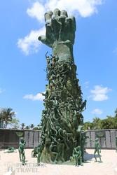 a Holocaust emlékmű Miamiban