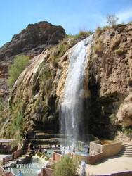 vízesés a sivatagban – Hammamat Ma'in