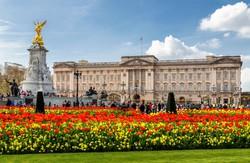a királyi család lakhelye, a Buckingham-palota