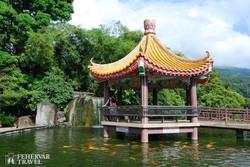kínai pavilon a Kek Lok Si templomegyüttesben Penang szigetén
