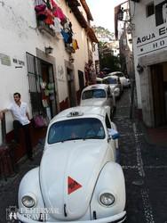taxi konvoj Taxcóban