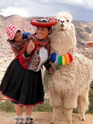 jellegzetes perui folklór