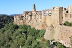 Pitigliano – egy darab középkor