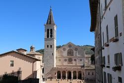 Spoleto katedrálisa