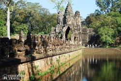 Angkor Thom déli kapuja
