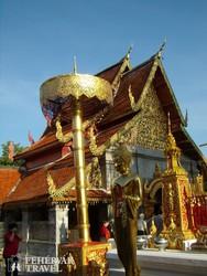 a Lampang Luang templom Lampang közelében