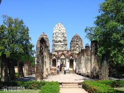 Sukhothai romvárosa - részlet