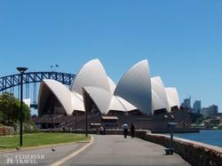 a világhírű operaház Sydneyben