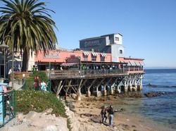 tengerparti hangulat Montereyben