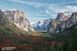 a Yosemite-völgy a Yosemite Nemzeti Parkban