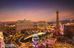 Las Vegas esti fényei
