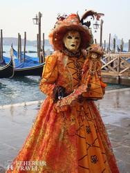 karneválozó Velencében